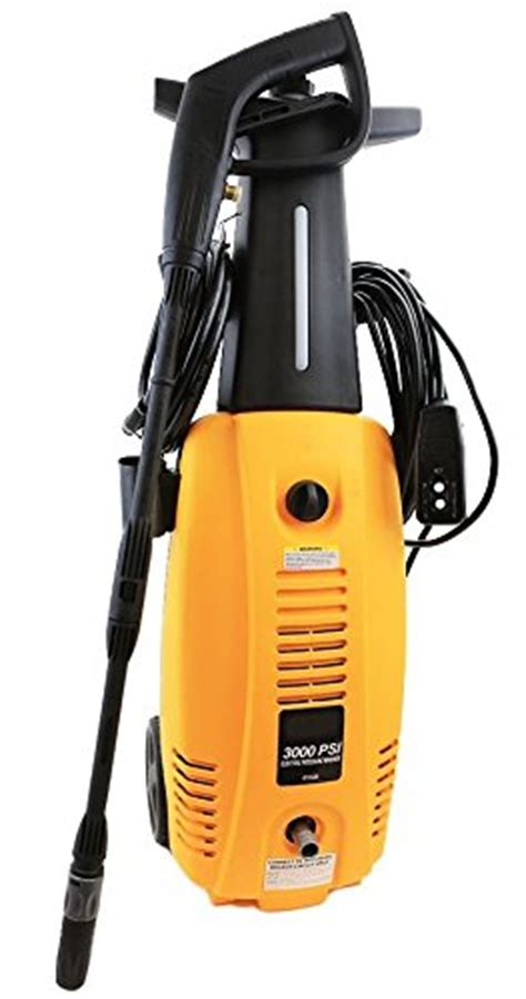 Best 3000 Psi Electric Pressure Washers For 2018