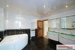 Deco salle de bain plafond for Salle de bain design avec plaque décorative plafond