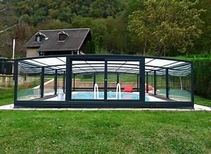 Abri Haut Piscine : l 39 abri de piscine semi haut ~ Premium-room.com Idées de Décoration