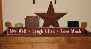 Live Laugh Often Love Much : live well laugh often love much wood sign ~ Markanthonyermac.com Haus und Dekorationen