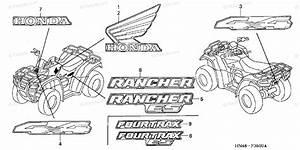 Honda Atv 2005 Oem Parts Diagram For Marks