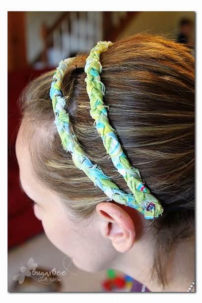 Headbands Headband Braided Gift Idea Crafts Sew
