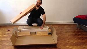 how to put an ikea sofa bed together youtube With how to put a sofa bed back together