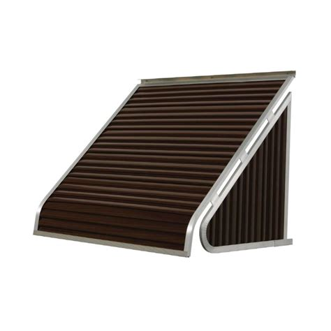nuimage awnings    wide    projection solid slope window fixed awning  lowescom
