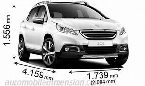 Dimension 2008 Peugeot : dimensions of peugeot cars showing length width and height ~ Maxctalentgroup.com Avis de Voitures