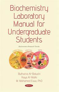Biochemistry Laboratory Manual For Undergraduate Students