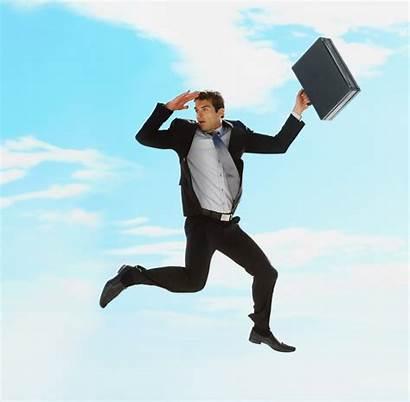Jumping Businessman Problem Solution Air Jump Before