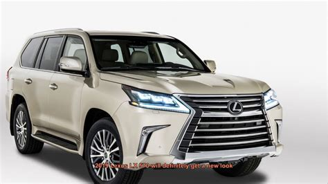 2019 Lexus Lx 570 Big Changes, New Interior Design Will