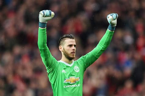 David De Gea Reveals He Used To Be A Striker