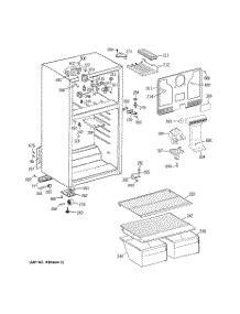 parts  ge gtscbsalww refrigerator appliancepartsproscom