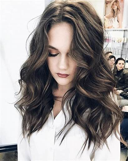 Perm Wavy Hairstyles Hair Brown Middle Styles
