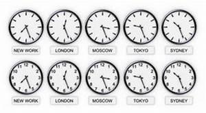Les Quatre Temps Horaires : horloges de fuseau horaire du monde illustration stock ~ Dailycaller-alerts.com Idées de Décoration