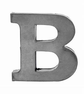 zinc letters by horsfall wright notonthehighstreetcom With zinc letters