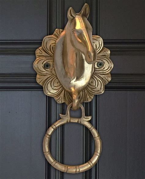 Unique Antique Modern Decorative Door Knockers by Quot Heurtoir De Porte Cheval Quot