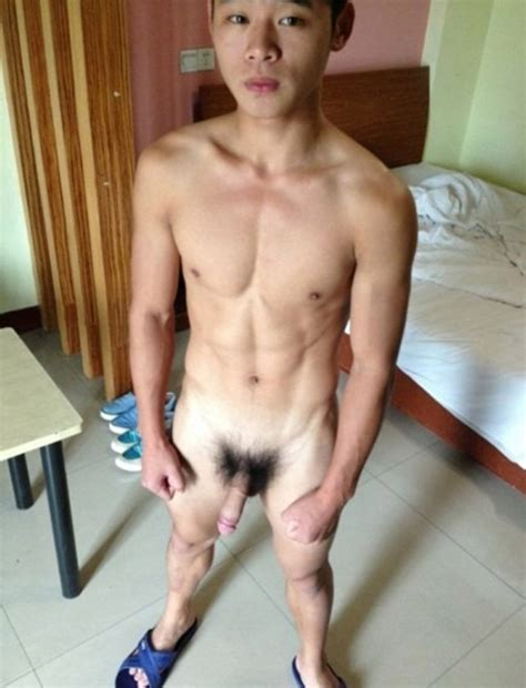 Asian Boy Totally Nude In His Room - Nude Man Post
