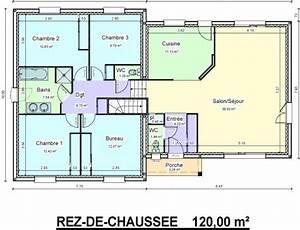 demi sous sol spacieux et contemporain bessaguet With plan maison demi sous sol
