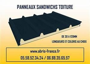Panneaux Sandwich Pas Cher : panneaux isolants sandwich toiture bardage facade en ~ Melissatoandfro.com Idées de Décoration