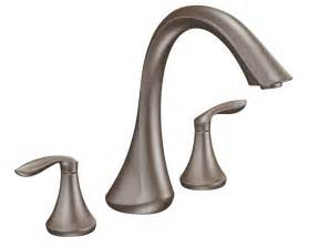 moen t943orb two handle high arc tub faucet