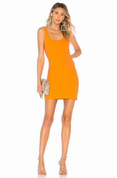 Orange Kourtney Mini Backless Way Kardashian Kylie