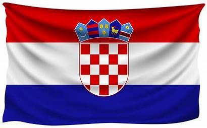 Flag Croatia Clipart Wrinkled Flags Covid National