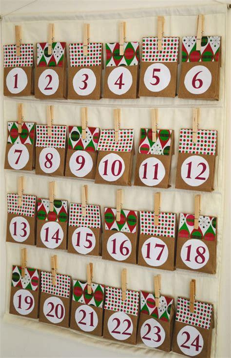 how to make advent calendar easy diy advent calendar