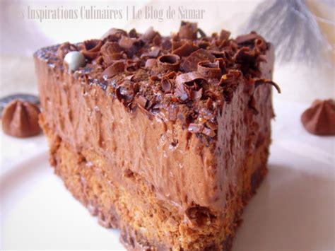 cuisine algerienne recette ramadan gateau mousse au chocolat comme un trianon le