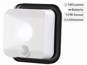 Leuchte Mit Batterie : pearl batterie led wandleuchte licht bewegungsmelder ~ Kayakingforconservation.com Haus und Dekorationen