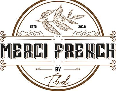 Creating a custom logo for your coffee shop shouldn't be hard work, not with this cafe logo maker! French Coffee Vintage Logo Desing #vintage #retro #handdrawn #illustration #adobe #logodesign # ...