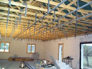 Pose D Un Faux Plafond En Ba13 : plafond notre maison dans le quercy blanc ~ Melissatoandfro.com Idées de Décoration