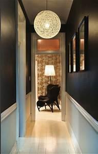 comment decorer un couloir mariekke With couleur de peinture pour couloir 3 une entree et un couloir contrastes home by marie