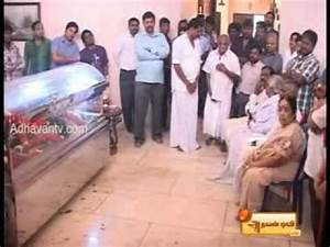 Ilayaraja - Wife death. - YouTube