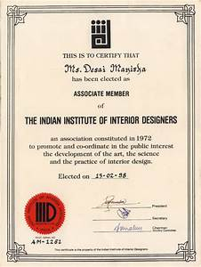 Home ideas modern home design interior design certificate for Interior decorator certificate online