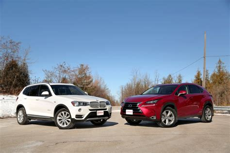 2015 Bmw X3 Xdrive28d Vs Lexus Nx 300h