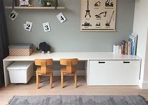 Ikea Schreibtisch Hack : ikea hack stuva schreibtisch basteltisch f rs kinderzimmer ~ Watch28wear.com Haus und Dekorationen