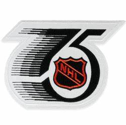 Nhl 75th Anniversary Jersey Patch Season 1991 92 With