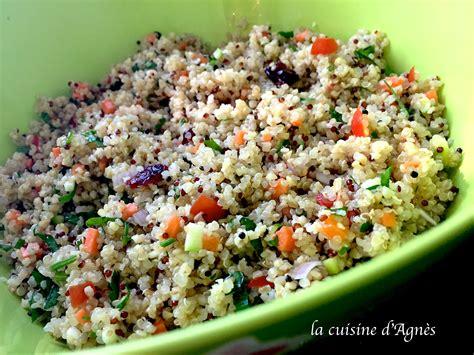 cuisine salade salade de quinoa et boulgour la cuisine d 39 agnèsla