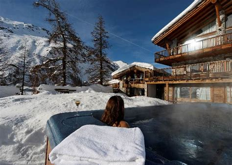 ski in ski out chalets luxury chalets val d isere