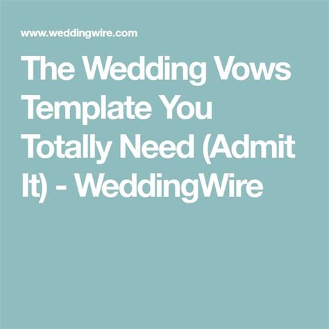 Wedding Vows Template Best 25 Wedding Vows Template Ideas On Bridal