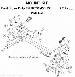 Fisher Mount Kit Mm Ford Superduty 2017