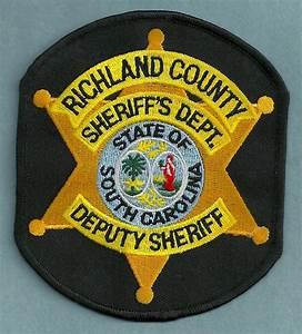 Richland County Sheriff South Carolina Police Patch
