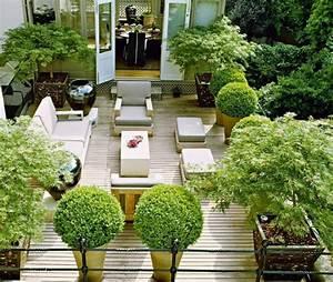 Pflanzen Für Innen : terrassen mit pflanzen episch sichtschutz terrasse von ~ Michelbontemps.com Haus und Dekorationen