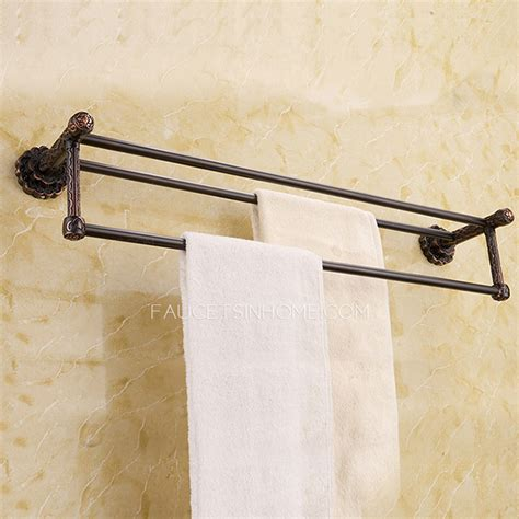 European Style Bar by European Style Rubbed Bronze Towel Bars