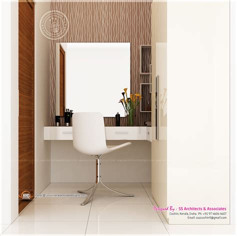 dressing table designs ss architects cochin house design plans