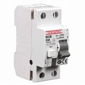 Interrupteur Differentiel Hager 63a Type Ac : interrupteur diff rentiel type ac 2 p les 63a 30ma debflex ~ Edinachiropracticcenter.com Idées de Décoration