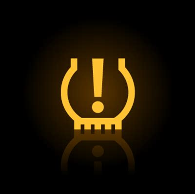 tpms light on tire pressure monitoring system