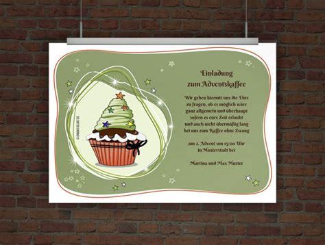 drucke selbst weihnachtliche einladung mit mustertext