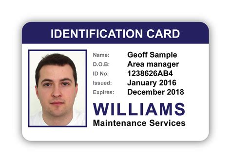 photo id card design  suite  individual