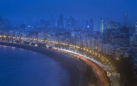 bing city lantern night cityscape traffic water
