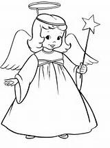 Coloring Christmas Pages Angel Angels Printable Print Drawing Drawings Clipart Simple Printables Line Colouring Clip Adult Sheets Azcoloring Collection Outline sketch template