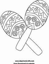 Coloring Pages Printable Fiesta Salsa Cinco Mayo Maracas Bongos Getdrawings Bongo Getcolorings Drums Instruments Playful Colorings Music sketch template